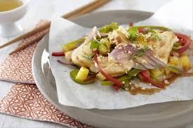 cuisine chinoise poulet recette de papillote chinoise de poulet à l aigre douce