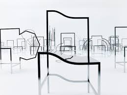 nendo u0027s 50 manga chairs for friedman benda in milan