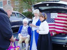 families flock to trunk or treat halloween event at westlake