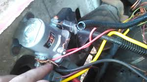 new alternator on a 1984 ford f150 youtube