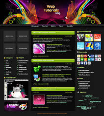 web tutorials wordpress theme 887 at website templates bz