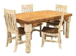 Dining Room Chairs Dallas by Dallas Designer Furniture White Washed Rustic Dining Room Set