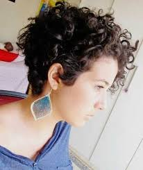 high nape permed haircut 95 best hairstyles images on pinterest curly hair bob