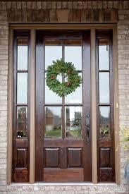front glass doors for home best 25 brown front doors ideas on pinterest brown doors
