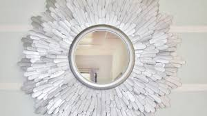 how to create a beautiful starburst mirror diy home tutorial