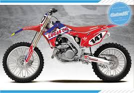 lucas ama motocross lucas series u2013 honda cr crf graphics kit u2013 custom mx u2013 the home of