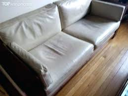 canapé cuir et bois rustique canape cuir et bois rustique vend salon occasion salons canape