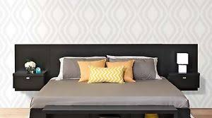 Wall Hung Headboard by Series 9 Designer Wall Mounted King Headboard With 2 Night Stands
