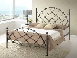 bedroom lovable full iron metal platform base bed frame cool