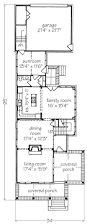 floor plans southern living river view cottage looney ricks kiss architects inc southern