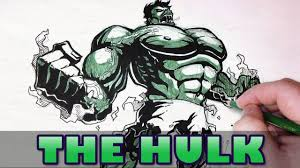 let u0027s draw the hulk youtube