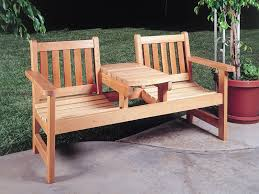 Outdoor Wooden Patio Furniture Beautiful Wooden Garden Benches On Patio In Landscape Where To
