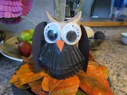 how to make owls from toilet paper tube craft 2 halloween