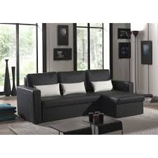 canapé d angle imitation cuir canapé angle romeo imitation cuir noir achat vente canapé sofa
