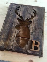 deer wood wall pallet designs faux taxidermy wall deer rustic