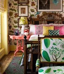 decorating with amped up floral patterns wsj