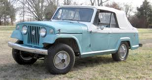 jeep commando hurst plush jeepster 1967 jeepster convertible