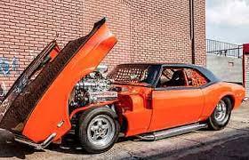 blown camaro 1968 blown camaro pro pro touring promod dragcar used