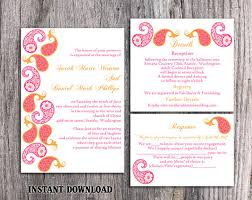 Wedding Invitations India Indian Wedding Invitation Card Template Editable Matik For