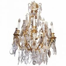 Bronze Chandelier With Crystals Chandeliers Kevin Stone Antiques U0026 Interiors