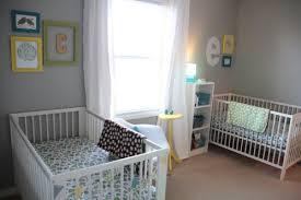 chambre jumeaux bébé deco chambre jumeaux mixte visuel 8