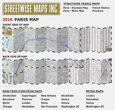 Washington Dc Hotel Map by Streetwise Paris Map Laminated City Center Street Map Of Paris