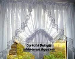 Curtain Designs For Kitchen by Classic Curtain Designs Style White Curtain Design