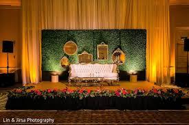 Indian Wedding Decoration Ideas Sweetheart Stage In Coronado Ca Indian Wedding By Lin U0026 Jirsa