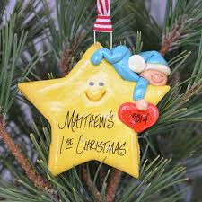 baby personalized ornament tis the season