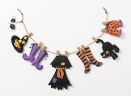 witch s laundry line bucilla felt garland kit