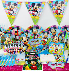 mickey mouse decorations 78pcs mickey mouse theme baby birthday party decorations kids