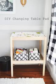 Baby Changing Table Pads Diy Changing Table Pad And Cover For Ikea Sniglar Changing Table