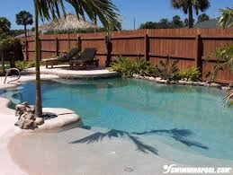 Backyard Designs With Pool Best 25 Walk In Pool Ideas On Pinterest Beach Entrance Pool