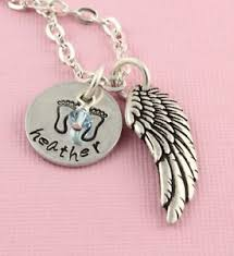 remembrance jewelry baby personalized remembrance necklace memorial jewelry baby