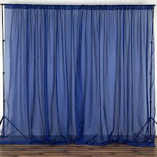 voile backdrop 10x10 ft curtain photo booth background