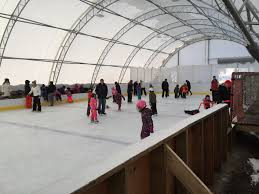 outdoor skating rink winkler structures