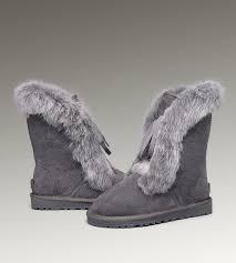 ugg slippers sale ugg sparkle deco blue ugg fox fur boots 3586 grey popular