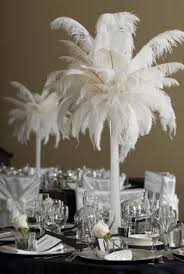 Feather And Flower Centerpieces by 37 Best Feathers Centerpieces Images On Pinterest Ostrich