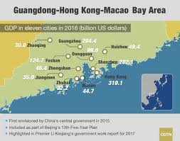 Zhuhai China Map by Beijing To Make Plans For Guangdong Hong Kong Macao Bay Area This