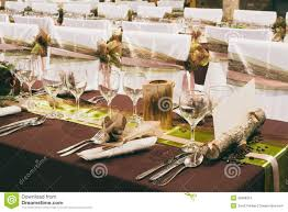 unique wedding table decorations stock photo image 35568310