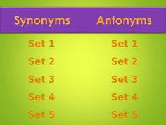 synonym and antonym match product from no monkey business