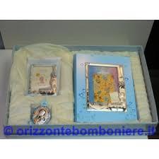 cornice battesimo bimbo set regalo battesimo argento 925 album cornice portafoto