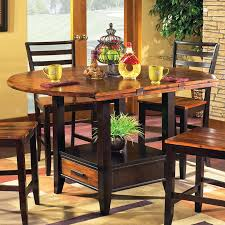 Dining Room Tables With Storage Steve Silver Abaco 5 Piece Double Drop Leaf Dining Table Set