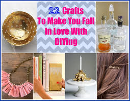 22 crafts to make you fall in love with diying craft craft
