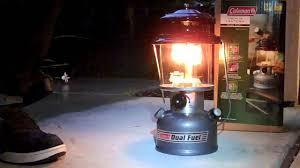 lighting a coleman lantern coleman dual fuel lantern youtube