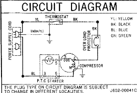 single door refrigerator wiring diagram single wiring diagrams