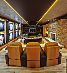 flooring home theater room ideas with ceiling lighting also