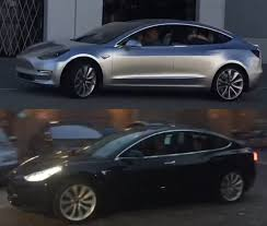 tesla model 3 release candidate comparison with first prototype