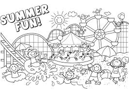Summer Coloring Pages Printable Free Download Coloring Summer Summertime Coloring Pages