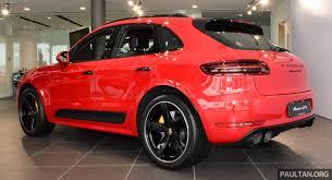 Porsche Macan Red - porsche macan gts launched in malaysia u2013 rm710k image 509977